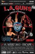 (C) Catapult Promotion / L.A. GUNS Escape Metalcorner Flyer / Zum Vergrößern auf das Bild klicken