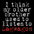 LAGWAGON I think my older brother used to listen to (c) Fat Wreck Chords / Zum Vergrößern auf das Bild klicken