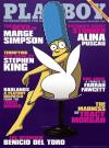Marge Simpson am Cover des Playboy (c) Playboy November 2009