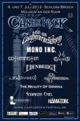 (C) Castle Rock Festival / Castle Rock Festival 2012 Flyer / Zum Vergrößern auf das Bild klicken