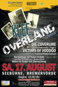 (C) Overland Festival / Overland Festival 2013 Flyer / Zum Vergrößern auf das Bild klicken