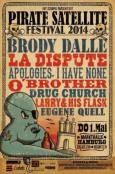 (C) FKP Scorpio / Pirate Satellite Festival Hamburg Poster / Zum Vergrößern auf das Bild klicken