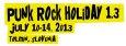 (C) Punk Rock Holiday / Punk Rock Holiday 1.3 Logo / Zum Vergrößern auf das Bild klicken