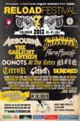 (C) Reload Festival / Reload Festival 2013 Flyer / Zum Vergrößern auf das Bild klicken