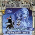 Rezension Gruselkabinett Box 1 Cover (C) Titania Medien/Lübbe Audio