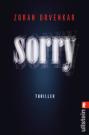 Rezension Sorry Cover (C) Ullstein / Zum Vergrößern auf das Bild klicken