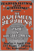 THE PAPERMOON SESSIONS Roadburn Afterburner 2014 Flyer