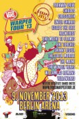 (C) Vans Warped Tour / Vans Warped Tour Germany 2013 Flyer / Zum Vergrößern auf das Bild klicken